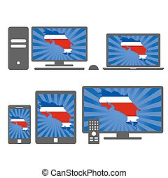 Electronic devices: Costa Rica