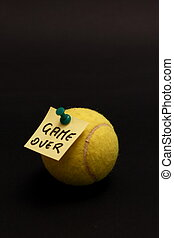 Game over - The game, unfortunately, is over