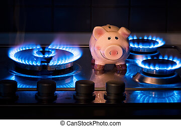 The cost of methane - The cost of natural gas more expensive