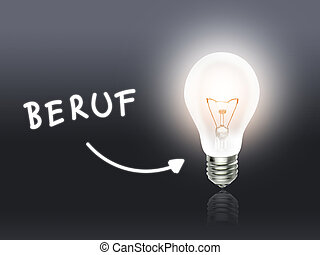 Beruf Bulb Lamp Energy Light gray Idea Background