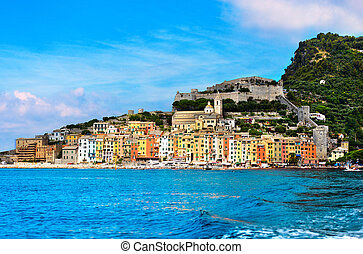 Portovenere - Liguria Italy - View of Portovenere or Porto...