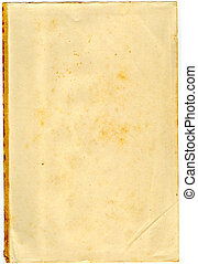 Texture 42 - Old aged and tinted paper ideal for bacground...