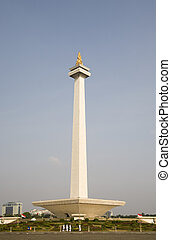 Monas; Monument National Indonesia in Jakarta