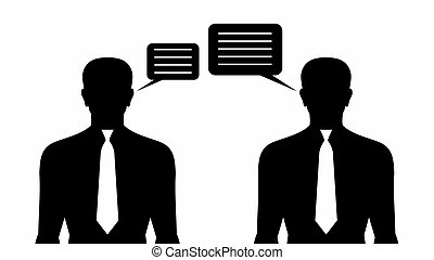 Business Communication - Stock Image - Business...