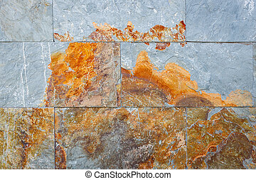 Color slate wall texture background
