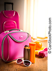 Summer vacations packing
