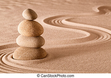 balancing stones zen garden - zen meditation garden stack of...