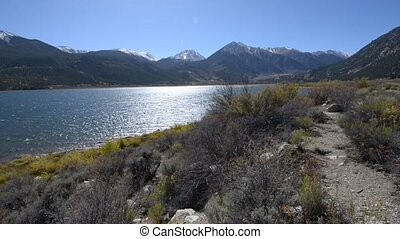 Twin Lakes Colorado Sunny Day - Twin Lakes - Lake County...