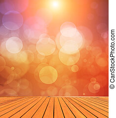 Abstract colorfull bokeh lights background