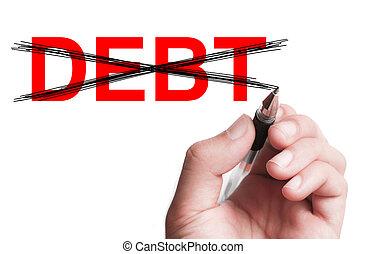 deuda,  no