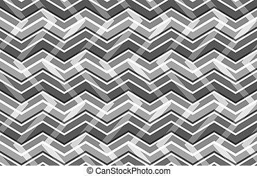 zig zag pattern vector illustration