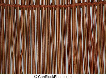 Brown brushwood background - The nature Brown brushwood...