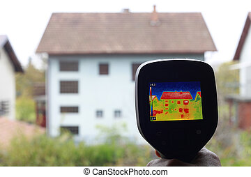 Heat Loss Detection - Thermal Insulation of the home