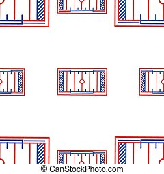Vector background for American football. Yardage Field -...