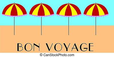 bon voyage background - bon voyage