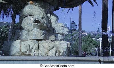 particolare fontana - Il video rappresenta un particolare di...