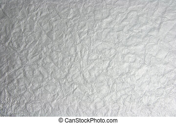 Crumpled Foil Background - Textured Background of Crumpled...