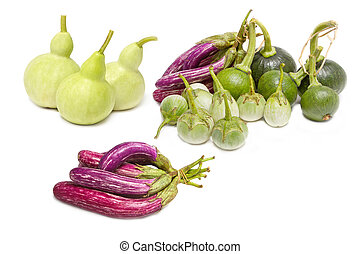 Mix vegetable: Bottle Gourd,Cockroach Berry, Eggplant and...