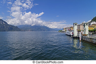 Views of Lake Como. Italy. - Views of Lake Como from the...