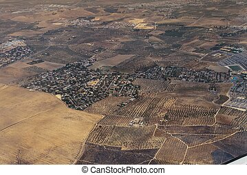 Aerial view of Andalusia