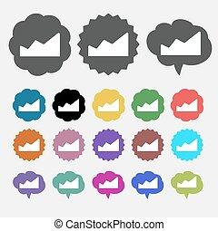 Info graphics icon