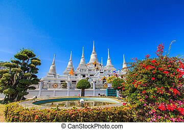 pagoda, Tailandia,  wat,  asokaram, templo