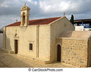 Small Orthodox Church in Greece