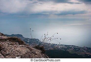 Ai-Petri Crimea landscape - Ai-Petri peaks in Crimean...