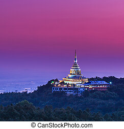 Wat thaton temple in chiang mai asia Thailand