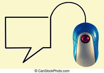 コミュニケーション, 概念, オンラインで