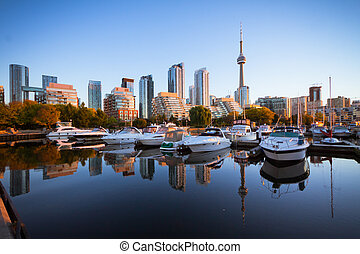 Toronto Yacht Club - View of Toronto Yacht Club near the...