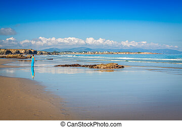 Las Catedrales beach in Galicia, Spain Paradise beach in...
