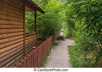 Bungalow - A beautiful wood bungalow in the forest