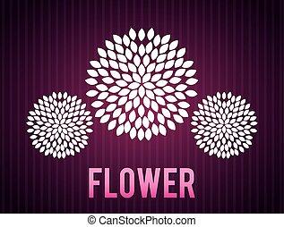 floral design  - floral  design , vector illustration
