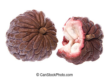 Custard Apples Isolated - Isolated image of custard apples
