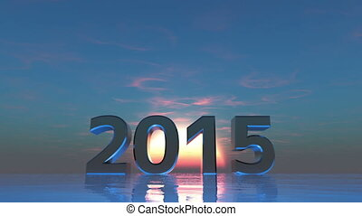 2015 and sunrise