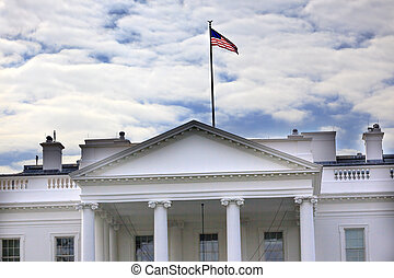 White House Pennsylvania Ave Washington DC - Presidential...
