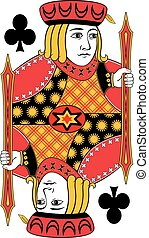 Jack of clubs no card