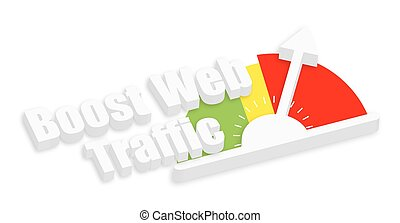 Boost Web Traffic Meter