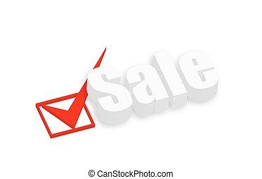 3d Sale Text