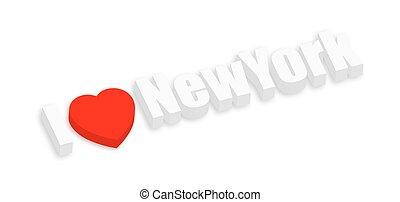 I Love New York Banner