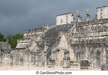 Chichen-Itza - Ruins of the Chichen-Itza, Yucatan, Mexico