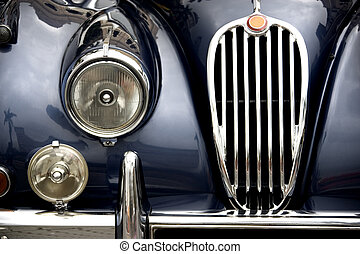 Vintage Car - Part of a vintage motorcar