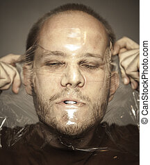 Deformated, rosto,