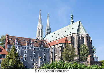 Church in Goerlitz - St Peter and Paul church in Goerlitz...