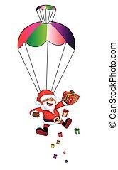 Santa Claus Parachute