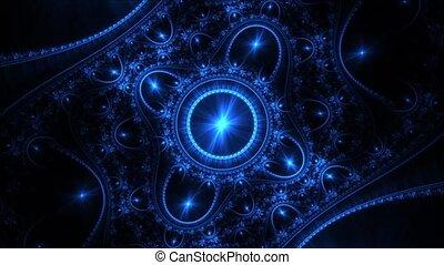 swirling wheels in deep universe
