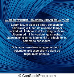 Abstract Deep Blue Background.