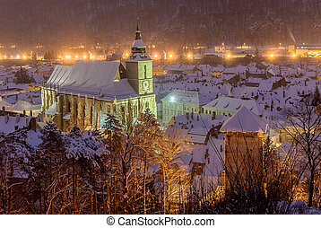 The Black church, Brasov, Romania - The Black Church, a...