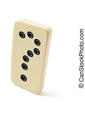 domino, pergunta, marca